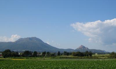 有珠山・昭和新山